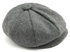 Lucas Baby Boy Hat In Grey Wool Sporty Infant by pink2blue on Etsy, $30.00