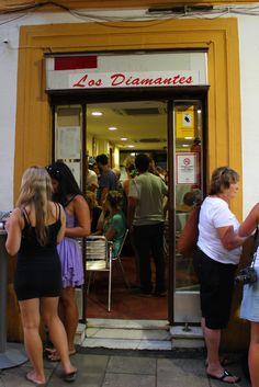 Bar Los Diamantes: Calle Navas