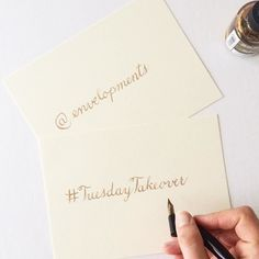 I'm honored to be taking over the @envelopments account today for a #TuesdayTakeover! Follow along to see how #Envelopments makes wedding season a little less crazy for me!  #design