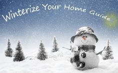 Don't foregt to winterize before the first major storm. #winterize #wintermaintenance #winter