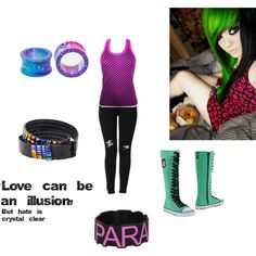 """""""Emo Colors"""" by guppy-on-angel-wings on Polyvore"""