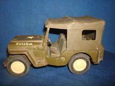 1965 Army Military Tonka Jeep Commander #40
