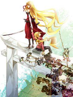 Shinobu Oshino, Kiss Shot, Monogatari Series, Cool Girl, Blade, Anime Art, Heart, Llamas, Art Of Animation