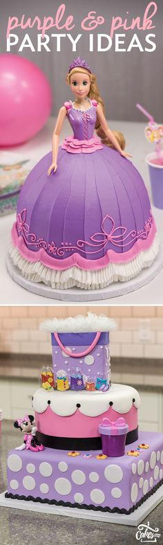 The cutest pink and purple party and treat ideas for your next bash.