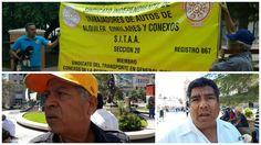 Viola la Ley Gustavo Morales bajo el amparo de Mario Trevizo, denuncian taxistas independientes entrega de concesiones de transporte a líderes charros sin publicación en Periódico Oficial | El Puntero