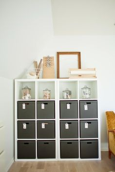 from the nato's / ikea storage, neutral, simple