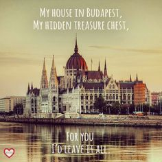 George Ezra - 'Budapest' My house in budapest.  You.  Love.