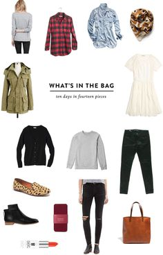 Europe Vacation Packing: Ten Days in 14 Pieces   Hollis Anne