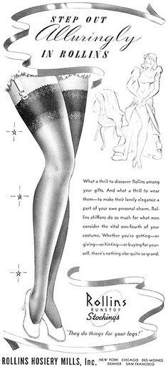 #VintageStocking Pubblicità vintage #vintage  #vintageadvertising