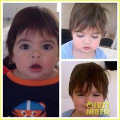 Shakira's 10 month-old son Milan (November 2013)