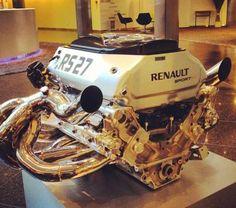 Renault RS27 2013 F1 Championship engine.