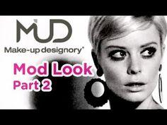 1960's Twiggy Makeup Tutorial - Part 2 #modmakeup #makeuptutorial