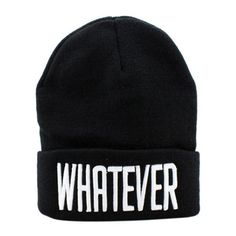 Cheap winter beanie hat, Buy Quality beanie hat directly from China gorros hombre Suppliers: Womail Winter beanie hat Fashion Letter Whatever Print Snapback Knitting Wool Men Women Caps gorros hombre 2017 Gift Black Beanie, Black Hats, Black Snapback, Knit Beanie Hat, Cotton Beanie, Beanie Pattern, Caps For Women, Hats For Men, Hat Men