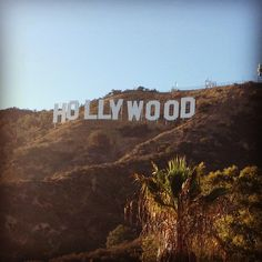 Our most iconic landmark, the Hollywood sign in Los Angeles, CA