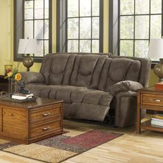Reclining Sofa | Overstock™ Shopping - Great Deals on Signature Design by Ashley Sofas & Loveseats