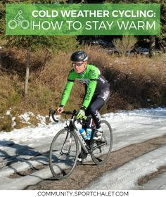 Discover how to keep up your cycling in the winter as the big chill sets in.