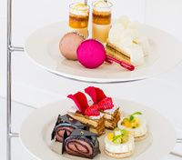 Wickedly Sweet Chocolate Afternoon Tea created by Anna Polyviou at the Shangri-La Hotel, Sydney.