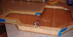 Custom Styled Dollhouse Kits: Building The Greenleaf Pierce Dollhouse - Day 1