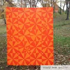I'm so happy to be done with this quilttop...finally! It was started in April of 2015 at a Denyse Schmidt workshop, and I don't think I had touched it since....except to steal scraps from the bag for