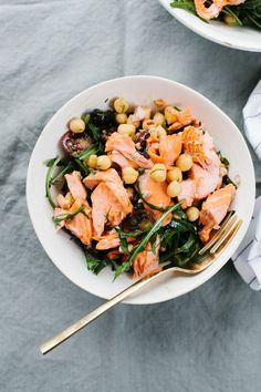 Salmon and Chickpea Salad | Not Without Salt | Bloglovin'