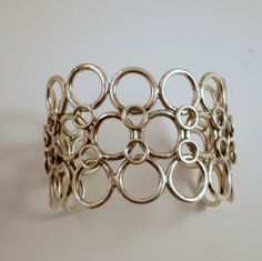 New Recycled Sterling Silver Jump Cuff by CDSOdesigns on Etsy, $150.00