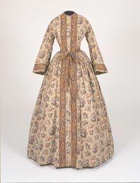 1850s Morning Dress