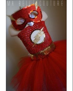 Hey, I found this really awesome Etsy listing at https://www.etsy.com/listing/190739125/made-to-order-the-flash-inspired-tutu