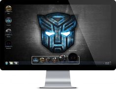 Transformers Windows Theme With 40 Walls and icons