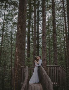 Mestel Wright This wedding made me think of you guys! Also reminded me to say- have you guys considered doing first-look photos? Camp Wedding, Dream Wedding, Anthropologie Wedding, Wedding Honeymoons, Wedding In The Woods, Wedding Looks, Beautiful Bride, Wedding Pictures, Wedding Inspiration