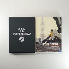 Patlabor The Movie Vol.1 DVD [Korea Limited Edition, SlipCover,Digipak, Booklet]