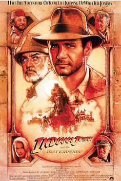 Póster Indiana Jones y la última cruzada