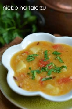zupa zsoczewicy Cebu, Aga, Tortellini, Cheeseburger Chowder, Cantaloupe, Fruit, Cooking, Ethnic Recipes, Food
