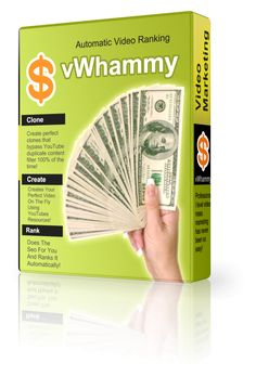 vWhammy - Clone, Create,Seo,Rank Videos Automatically - %URL vWhammy  #vWhammy – Clone, Create,Seo,Rank #Videos Automatically vWhammy – Clone, Create,Seo,Rank Videos Automatically – From #Cliff Carrigan –  The power of true mass video #marketing in action. A few button clicks and you can have your favorite videos cloned, created,...