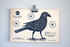 two and twenty black birds by Jennifer Wood on Etsy