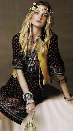 #Fashion #Boho Chic