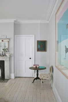 farrow and ball strong white comes out grey - Google Search