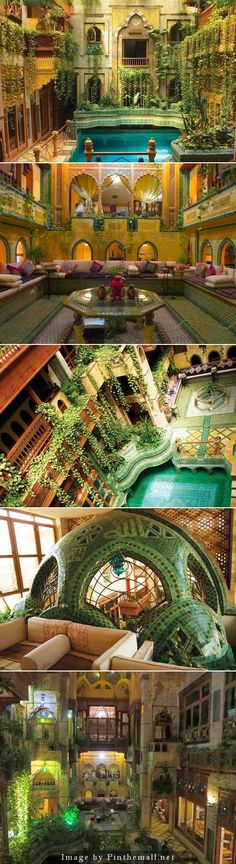 The home of architect and thinker Dr. Sami Angawy in Jeddah, Saudi Arabia - breathless