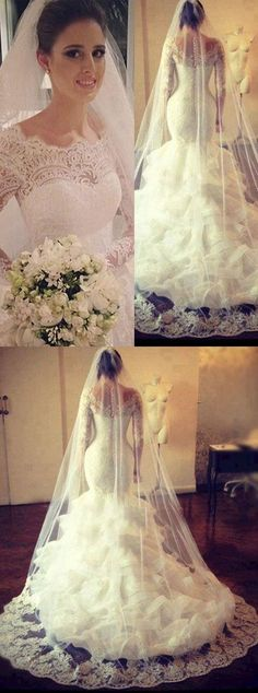 wedding dress ,mermaid wedding dress,bride dress,