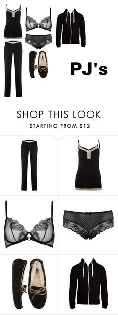 """Untitled #131"" by zoe-pritchett ❤ liked on Polyvore featuring Elle Macpherson Intimates, La Perla, Accessorize, UGG Australia and Criminal Damage"