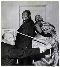 Fats Domino and Big Maybelle