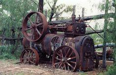 old steam boiler