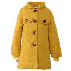 Something Special, Yes indeed! Prachtige, warme winterjas van 4funkyflavours in een warme okergele kleur.