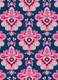 Emily Kiddy: Print Factory! Textile Patterns, Textile Prints, Textile Design, Fabric Design, Pattern Art, Pattern Design, Wallpaper Backgrounds, Iphone Wallpaper, Pretty Patterns