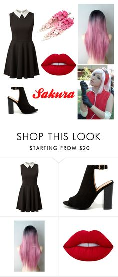 """""""Sakura"""" by lilibessa on Polyvore featuring Bamboo and Lime Crime"""