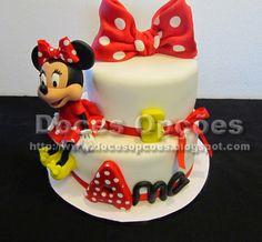 Doces Opções: Bolo 5º aniversário da Ana com a Minnie