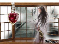 Solitario rubino