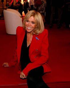 "Polubienia: 119, komentarze: 6 – #BrigitteMacron.France (@brigittemacron.france) na Instagramie: ""#brigittemacron #emmanuelmacron #macron #premieredame"""