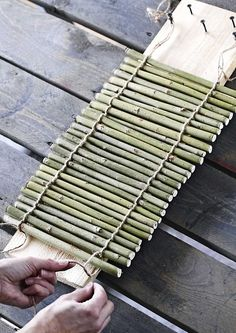 1 million+ Stunning Free Images to Use Anywhere Twig Crafts, Bamboo Crafts, Nature Crafts, Diy Home Crafts, Diy Home Decor, Wood Projects, Woodworking Projects, Diy Para A Casa, Jardin Decor