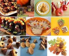 Thanksgiving Sweet Snack Ideas