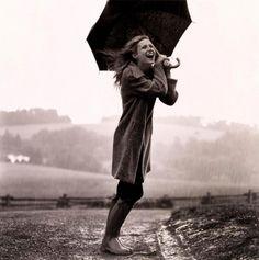 joy in the rain!